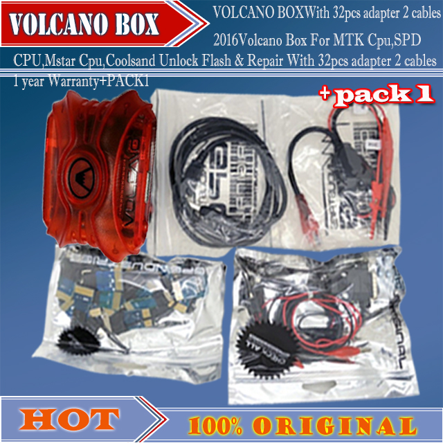 2016 Volcano Box For MTK Cpu,SPD CPU,Mstar Cpu,Coolsand Unlock Flash