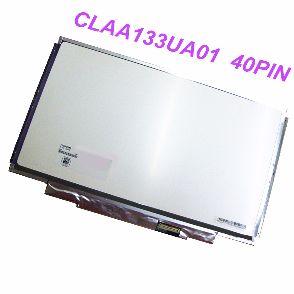 13.3'' for SONY VPC-SA SB SC SD VPC-SA25 VPC-SA27 CLAA133UA01 1600*900 Laptop Screen LCD LED Display Screen 1600 x 900 40 PINS free shipping for sony vpc f vpcf138 f127h f119fcx f221 lq164m1la4a lcd screen 16 4 wuxga 2 ccfls for vgn fw laptops