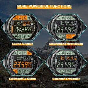 Image 5 - Zeblaze VIBE 3S montre intelligente extérieure robuste temps réel étapes météo suivi de Distance de calories 5 ATM/50M/164ft résistant à leau