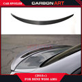 mercedes c class front bumper spoiler w205 wing car rear lip spoiler C63 spoiler for sedan C180  C200 C230 C280 C300 C350 2015+