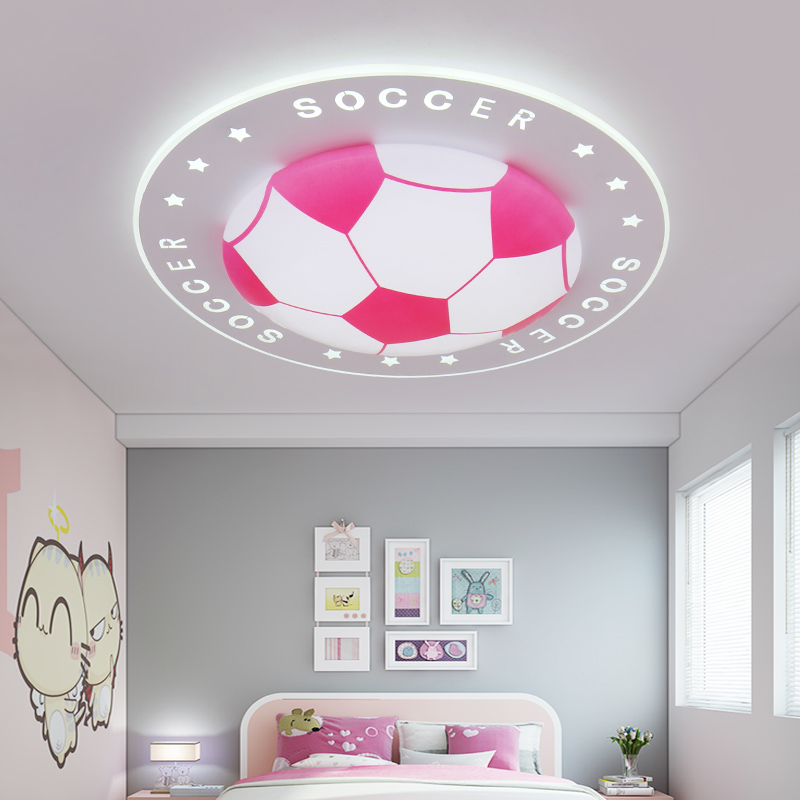 New football children lamp LED dome light modern bedroom light contracted fashion round lamps and lanterns ceiling lamp New football children lamp LED dome light modern bedroom light contracted fashion round lamps and lanterns ceiling lamp