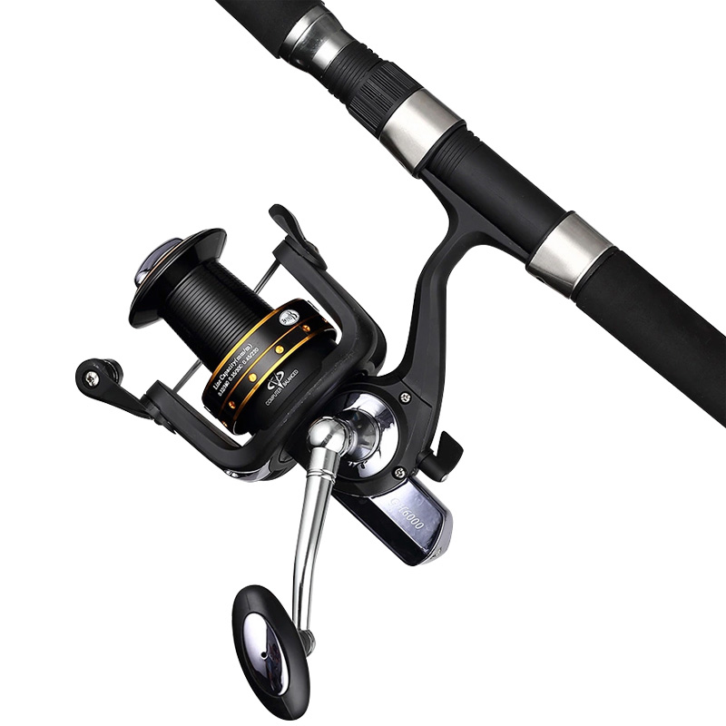Mmlong Free Shipping Spinning Fishing Reel GH7000 Left Right Handle Baitcasting reels Distant Wheel Saltwater Fishing tackle new 12bb left right handle drum saltwater fishing reel baitcasting saltwater sea fishing reels bait casting cast drum wheel