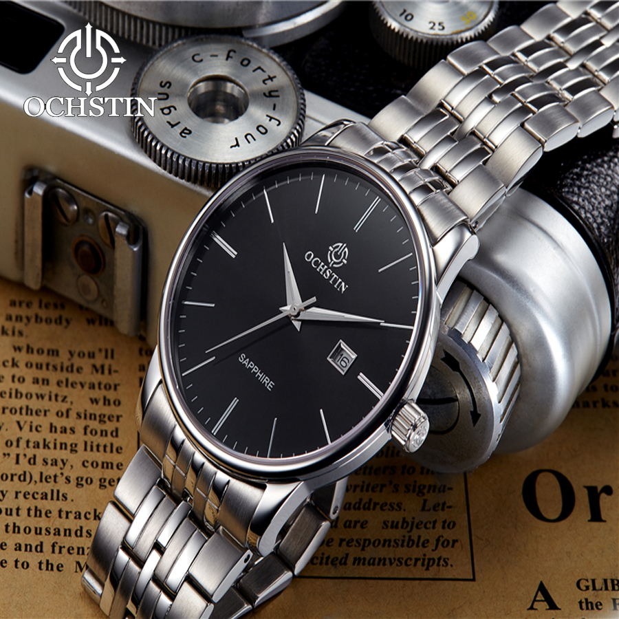West Rail City Quartz Movement Business Mens Full Steel Watch Silver black Date Waterproof Watches Casual Sports Male Clock West Rail City Quartz Movement Business Mens Full Steel Watch Silver black Date Waterproof Watches Casual Sports Male Clock