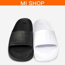 Unique Xiaomi FREETIE LOGO Sports activities Slippers Anti-slip Groove Design  Ergonomic Foot Mattress