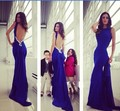 2016 Free shipping gauze beaded Homecoming Party Prom Gowns Ball Formal Evening dresses vestidos de festa TK306