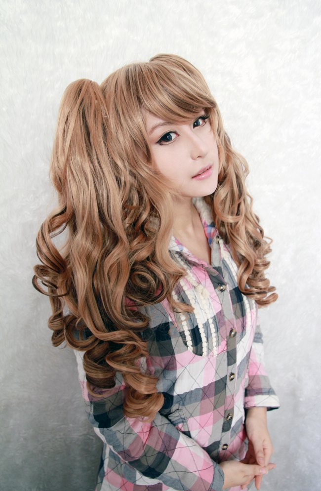 Theme, will Pigtail girl with brown hair