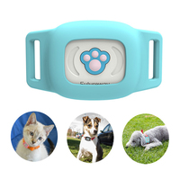 gps dog collar IP67 waterproof cat dog animal tracker night luminous collar tracking device
