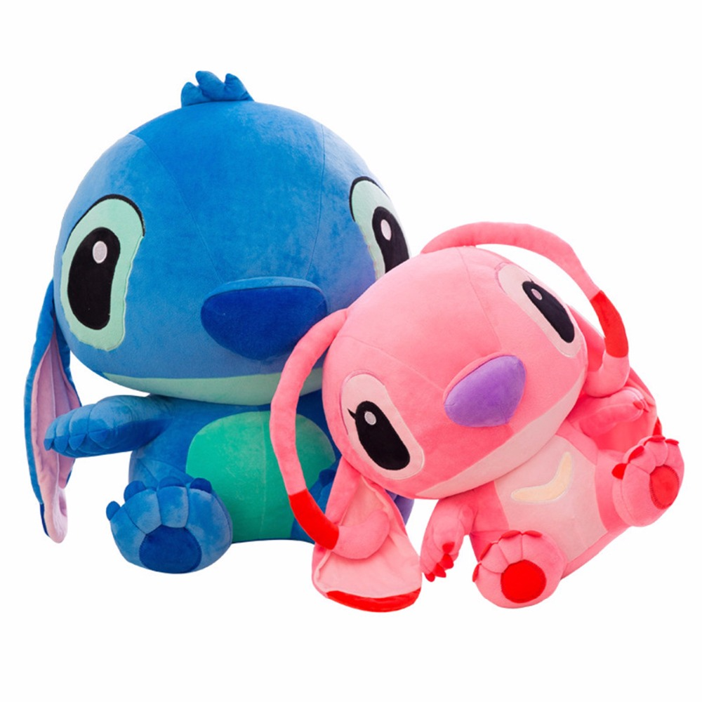 1PC 35/45CM Cartoon Stitch Lilo & Stitch Plush Toy Doll Children Stuffed Toy For Baby Kids Birthday Christmas Children Kid Gifts lilo and stitch toy 626 experiment 4 hands stitch plush figure doll 22cm cute stuffed animals baby kids toys for children gifts