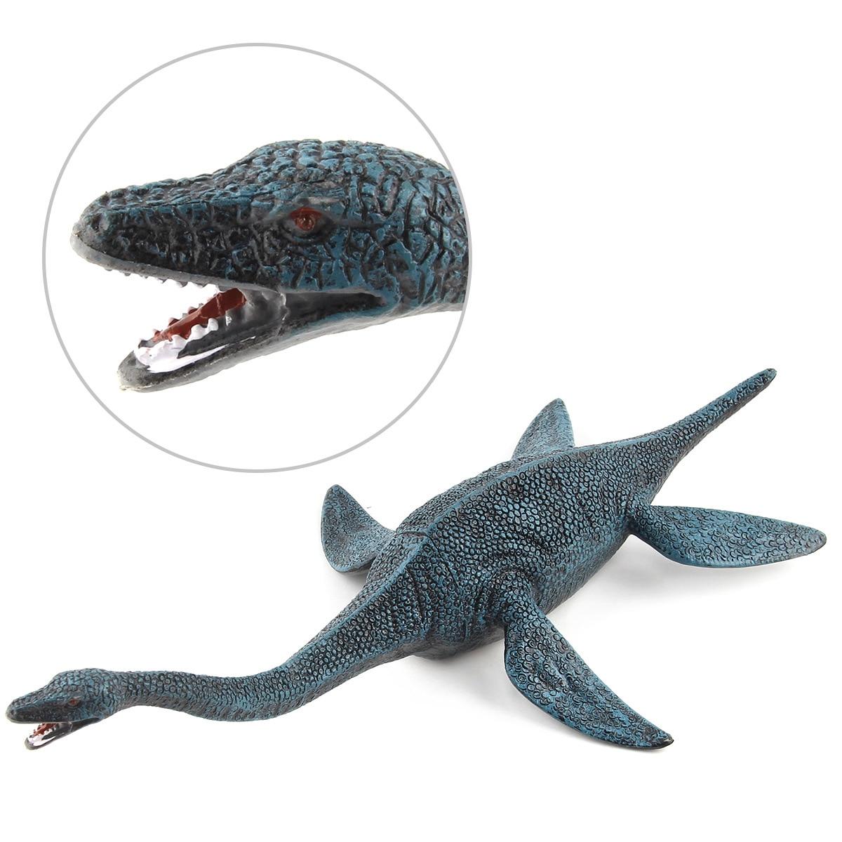 Plesiosaur Model Plastic Doll Simulation Dinosaur Hand Model Toy 25x45cm simulation dove model toy plastic foam