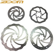 ZOOM MTB/road disc brake/cyclocross bike brake disc,44mm 6-bolt,centerline 160mm 180mm rotor,with screws