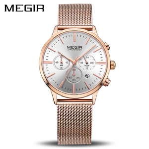 Image 1 - MEGIR แบรนด์ผู้หญิงหรูหราแฟชั่นนาฬิกาควอตซ์สุภาพสตรีนาฬิกา Relogio Feminino นาฬิกานาฬิกาข้อมือสำหรับคนรักสาวเพื่อน 2011