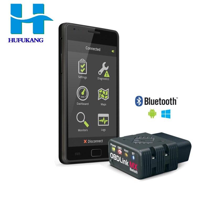 Цена за Новинка 2017 сканера obdlink MX Bluetooth сканирования Авто инструменту диагностики clear код неисправности, код читателя