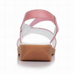 Image 3 - GKTINOO 2020 sandales en cuir véritable pour femmes, été, sandales à talons plats pour femmes, Plus la taille 33 43
