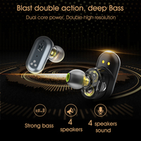 SYLLABLE S101 TWS Bluetooth Earphones True Wireless Stereo Earbuds Strong bass Waterproof Bluetooth sports Headset Syllable S101