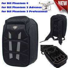 Free shipping! Shell Case DJI Phantom 4 3 Pro&Adv Shoulder Backpack Travel Carry Bag RC Drone