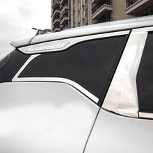 Lsrtw2017 Stainless Steel Car Window  Trim Strip for Trumpchi Gs4 2015 2016 2017 2018 2019 2020 lsrtw2017 abs car wheel fender for trumpchi gs4 2015 2016 2017 2018 2019 2020