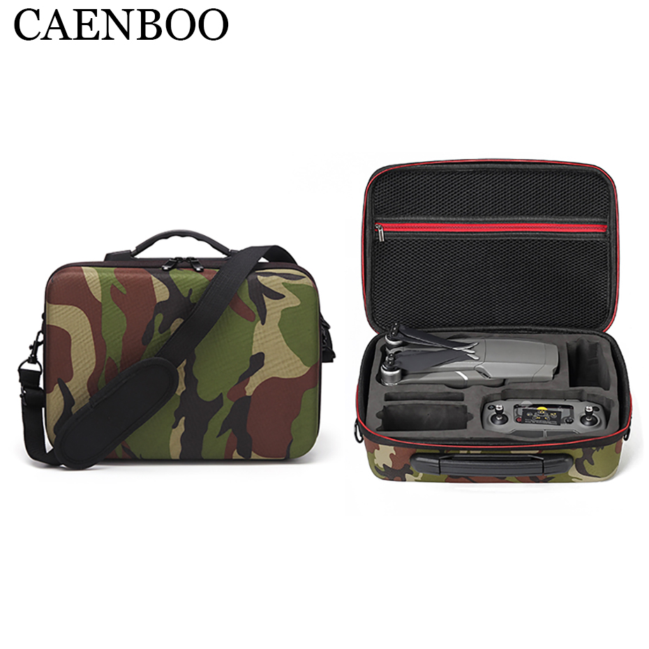 For DJI Mavic 2 Bag Accessories Waterproof Portable For Mavic2 Pro/Zoom Case EVA Drone Box Protector+Shoulder Strap Carry Handle