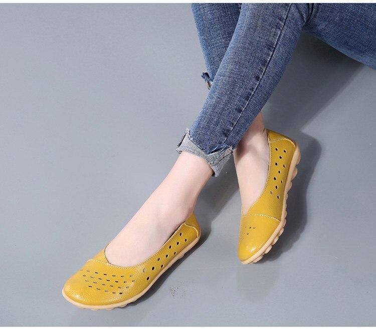 AH 5929-1-2019 Summer Woman Flats Cut-Outs Women Loafers-16