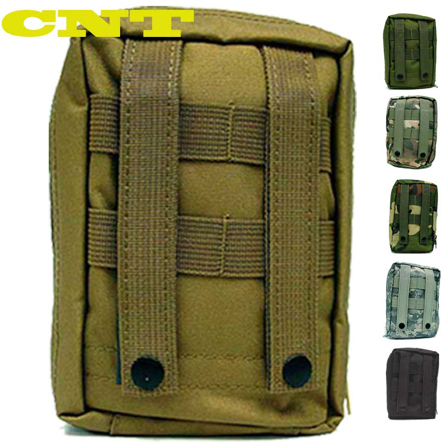 7 Color Outdoor Molle System Military Bag Molle First Aid Kit Hunting Sport Medical Pouch Carry Hunting Sling Tactical Bag