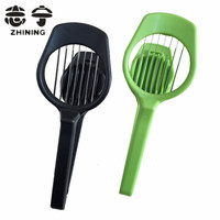 Fruit Slicer New Arrival ABS Stainless Steel Egg Cutter Kitchen Gadgets Cooking Tools Fruit Vegetable Tools