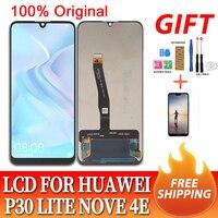 6.15 Original lcd for Huawei P30 Lite/ Nova 4E LCD Display Touch Screen Digitizer Assembly LCD Display P30 Lite Repair Parts