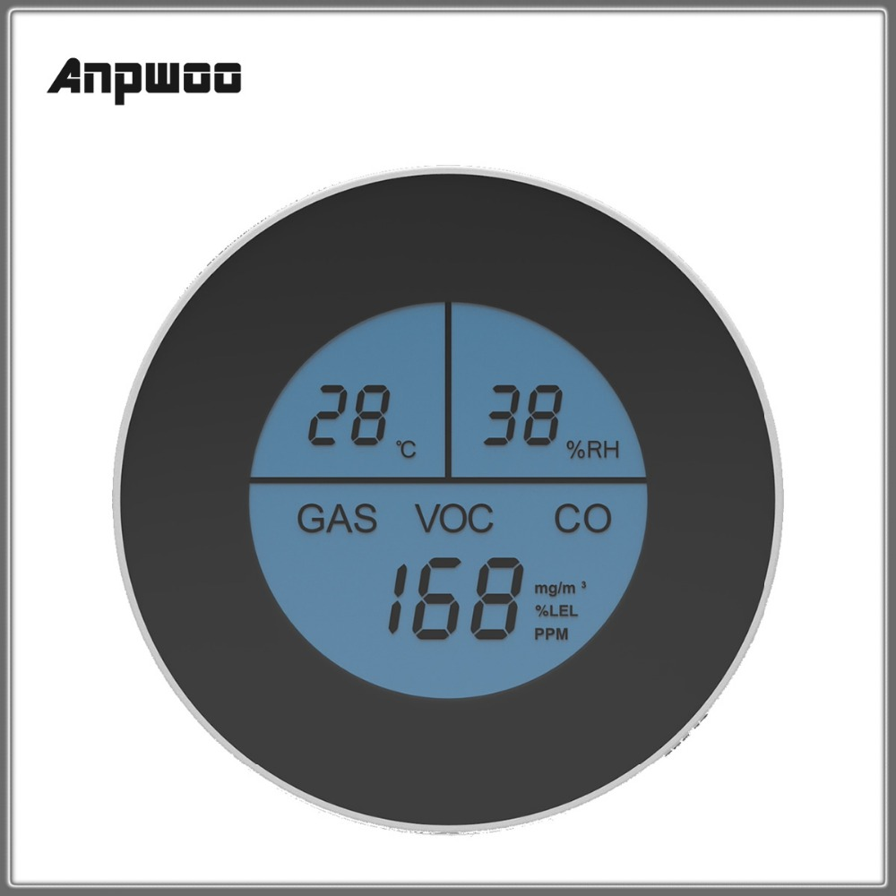 Anpwoo PA 210W Home Security Warning High Sensitive LCD ...
