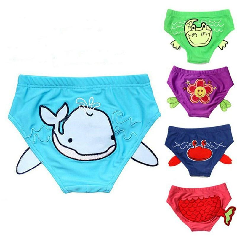 bambino costumi da bagno bambino costume da bagno pannolino del neonato swimwear 0 2 anni