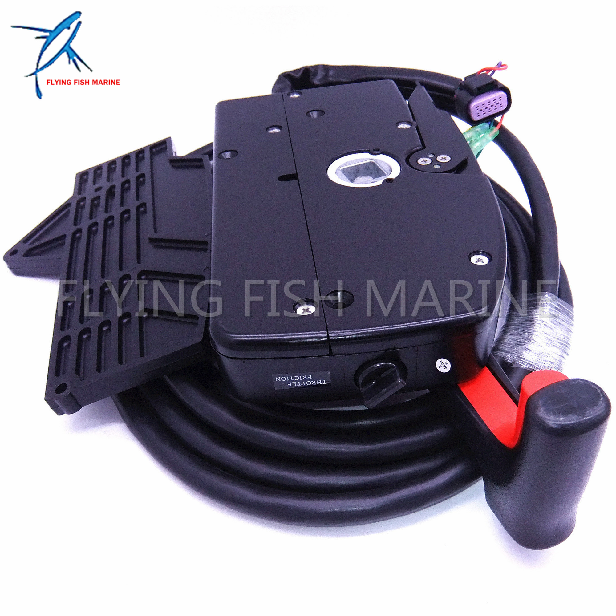 PULL Throttle Outboard Remote Control Box Side Mount 14Pin for Mercury 881170A13