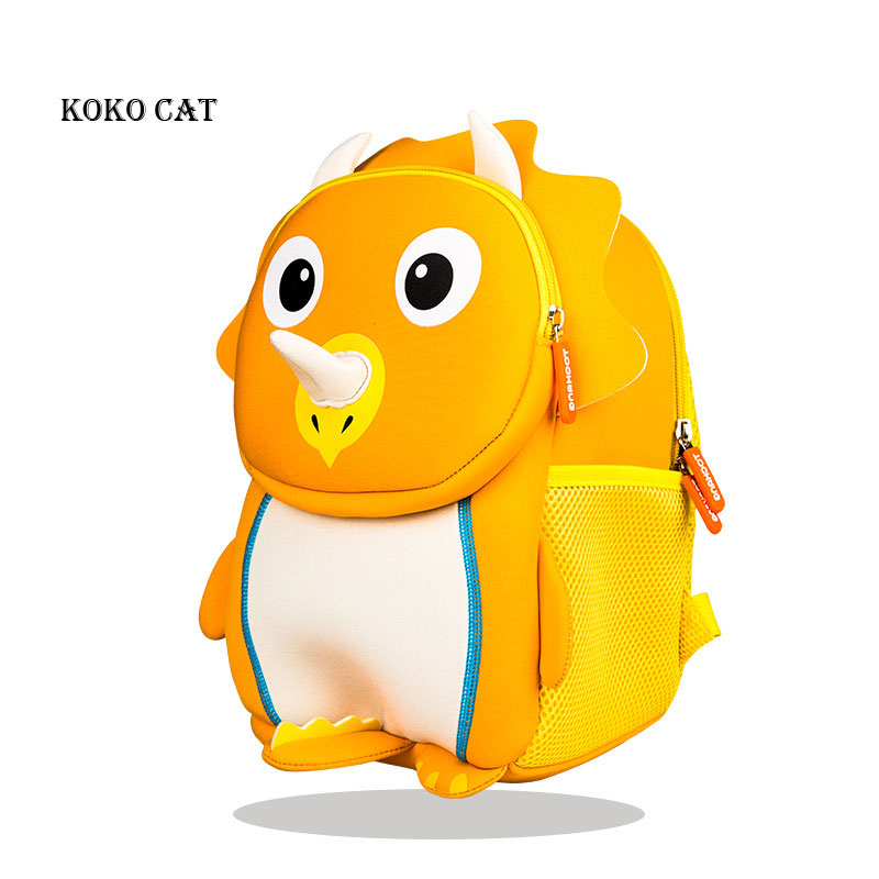 Lovely Kids School Backpack for Girls 3D Dinosaur School Bags Cute Animals Design Children Backpacks Book Bag Mochilas Escolares|School Bags| |  - title=