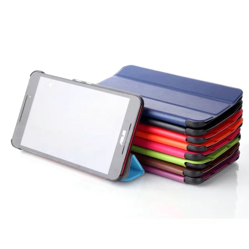 Ultra Thin Slim Luxury Magnetic Folio Stand Leather Case Smart Cover For Asus Fonepad 8 FE380 FE380CG FE8030CXG K016 8 Tablet