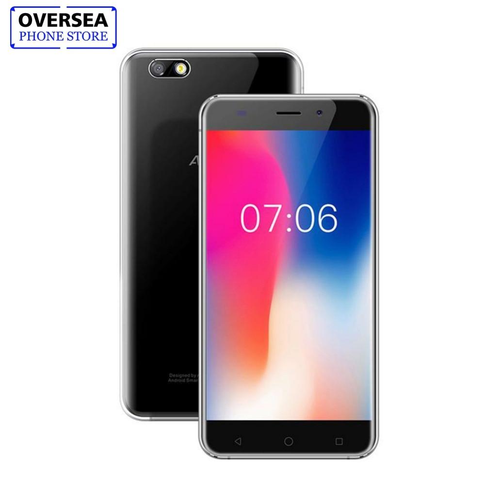Original AllCall Madrid 5.5 Inch HD Dual SIM Android 7.0 Smartphone MT6580 Quad Core 1GB RAM 8GB ROM 8.0MP 3G WCDMA Mobile Phone