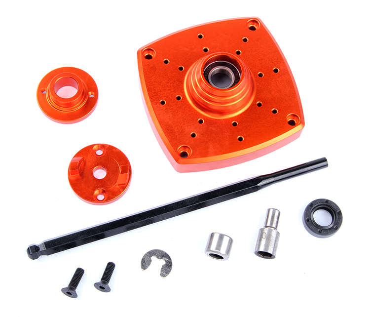 Rovan 1 5 CNC Aluminum Roto Start Starter Fit HPI BAJA 5B Parts King Motor Free