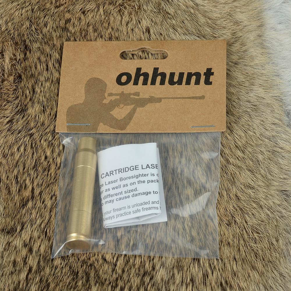 Цена за Ohhunt CAL 9.3X62 Картридж Красный Лазерный Диаметр Sighter Boresighter Прицельная Прицел Boresight Colimador Для Охотничьего Ружья