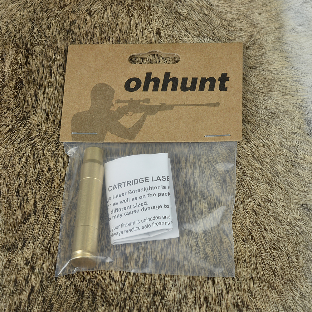 Ohhunt CAL 9.3X62 Cartridge Red Laser Bore Sighter Boresighter Sighting Sight Boresight Colimador For Hunting Rifle