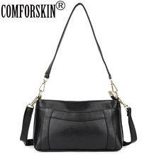 COMFROSKIN Luxurious Genuine Leather European And American Style Women Handbags 2018 Hot Brand Designer Real Womens Bag