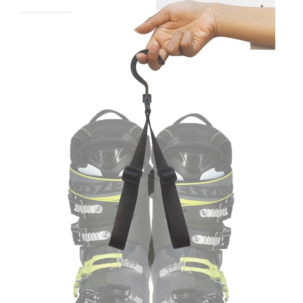 2 Pc Adjustable Ski Boot Carrier Ski Boot Strap Boot bander NO BOOT ...