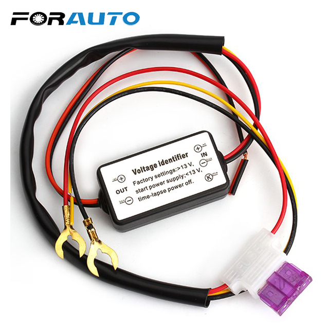Forauto 12 18v Drl Controller Daytime Running Light On Off Car Styling Fog Accessiores Led Relay