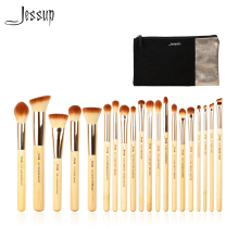 Jessup Brand 20pcs Beauty Bamboo Professional Makeup Brushes Set Beaut