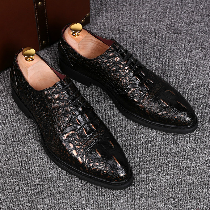 Tidog Business Mens Dress Shoes European British Style Wedding Shoes In Formal Shoes From Shoes