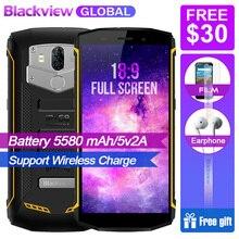 PROMOSYON Blackview BV5800 pro IP68 su geçirmez Kablosuz Şarj 5580 mAh 4G 18:9 2 GB 16 GB Smartphone MT6739 13MP NFC Dokunmatik ...