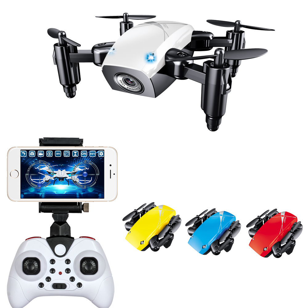WIFI FPV Mini Drone with Camera 2.4G 4CH 6-axis RC Quadcopter Nano Drone RC WIFI FPV Drone Phone Control Toy jjr c jjrc h43wh h43 selfie elfie wifi fpv with hd camera altitude hold headless mode foldable arm rc quadcopter drone h37 mini