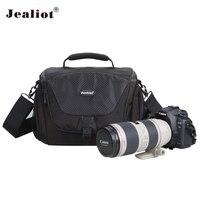 Jealiot Professional dslr Camera bag shoulder bags digital camera waterproof Video Photo bag case for SLR Canon 70d Nikon Sony