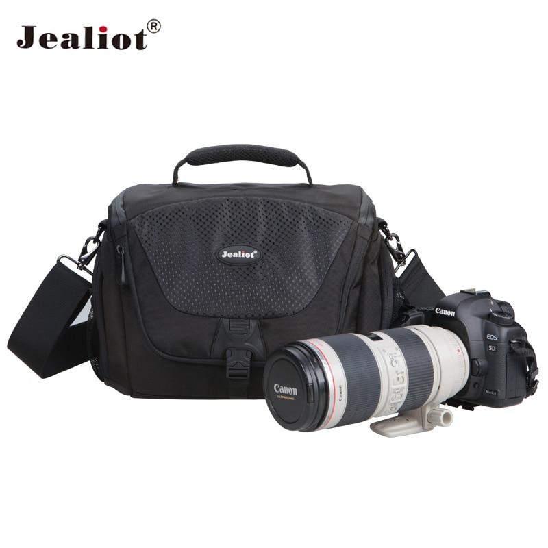 Jealiot Professionnel Appareil Photo reflex numérique sac d'épaule sacs appareil photo numérique étanche Vidéo Photo sac cas pour REFLEX Canon 70d Nikon Sony