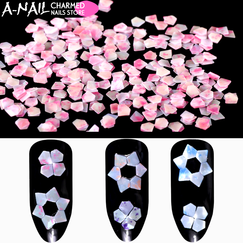 Sonnig 12 Gläser/set Jade Diamant Form Nagel Pailletten Konfetti Acryl Nagel Glitter Tipps 3d Uv Gel Flakes Nail Art Schmuck Werkzeuge Nails Art & Werkzeuge