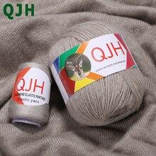 Bán Hot 6 quả bóng/(300 + 120) g Mông Cổ 100% Tinh Khiết Cashmere Sợi Tay dệt kim Len bóng dệt Len Cashmere Bé Dòng ấm