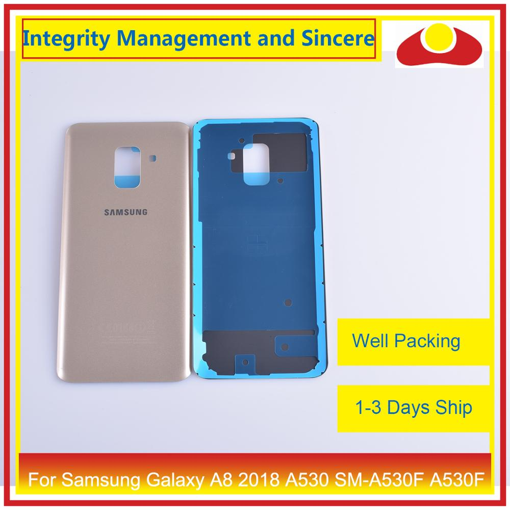 Image 5 - 50Pcs/lot For Samsung Galaxy A8 Plus 2018 A730 SM A730F A730F Housing Battery Door Rear Back Cover Case Chassis Shell A8+ Cover-in Mobile Phone Housings & Frames from Cellphones & Telecommunications