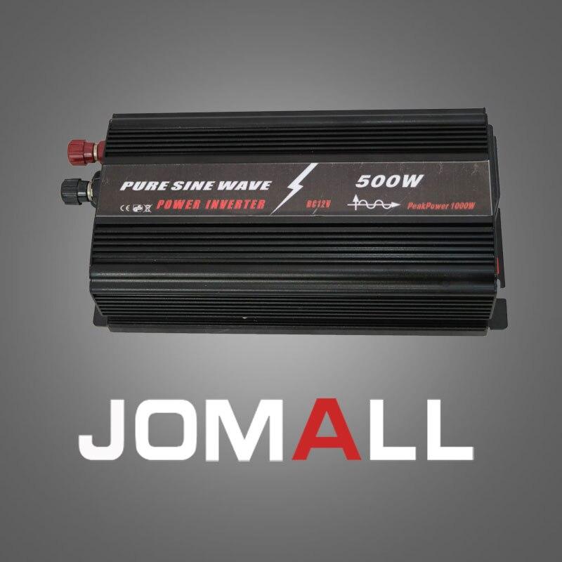 500 W WATT DC 12 V a 220 V AC de onda senoidal pura Inversor de Potência Do Carro Portátil Carregador Adapater Converter transformador