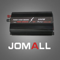 500W WATT DC 12V To AC 220V Pure Sine Wave Portable Car Power Inverter Adapater Charger