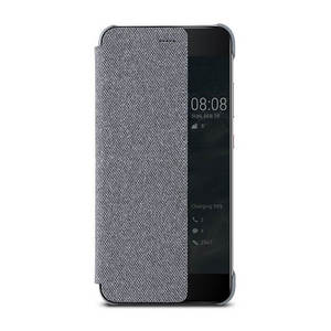 Image 5 - HUAWEI P10 Ốp Lưng Ban Đầu chính thức Smart View Cửa Sổ Vải Da điện HUAWEI P10 Plus Ốp Lưng Kinh Doanh P10 Plus Lật bao da