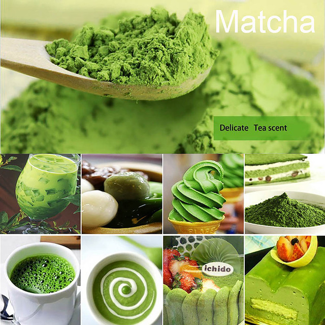 100g Japanese Matcha Green Tea Powder Natural Green Tea Powder Lose Weight Body Beauty